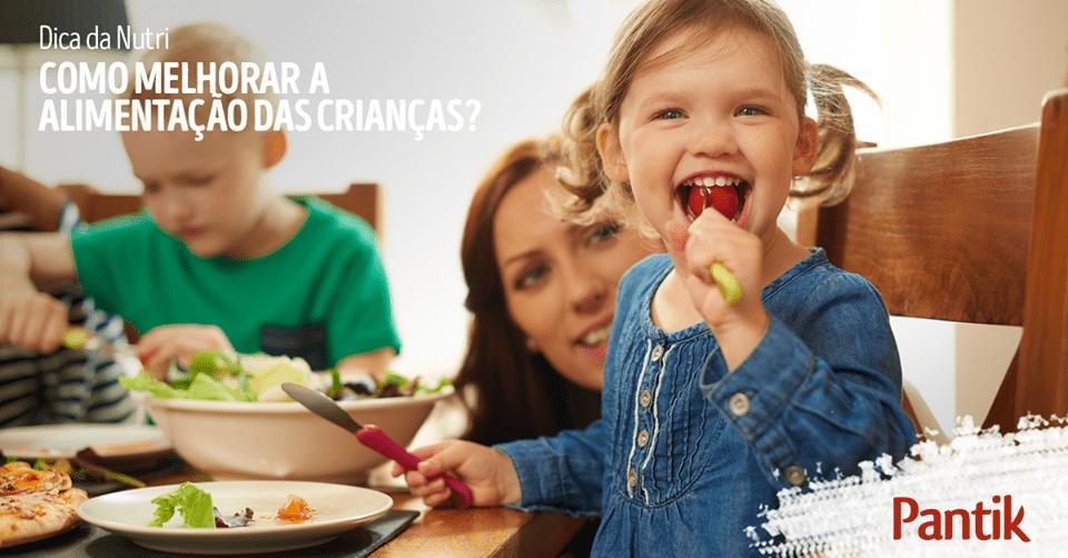Como melhorar a alimentação das crianças
