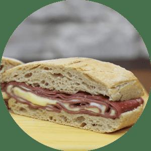Sanduíche Mercadão Bologna