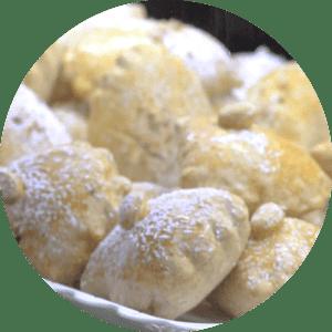 Pastel Assado de Coco